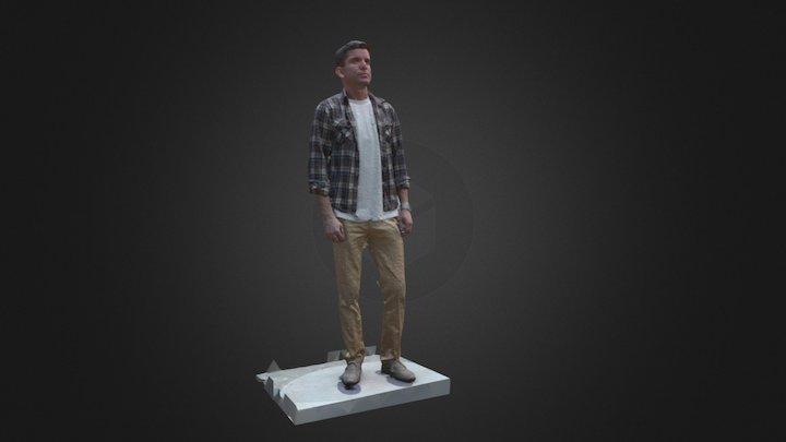 Chris Obj 3D Model
