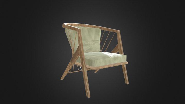 Victoria_Chair by ZIENTTE 3D Model