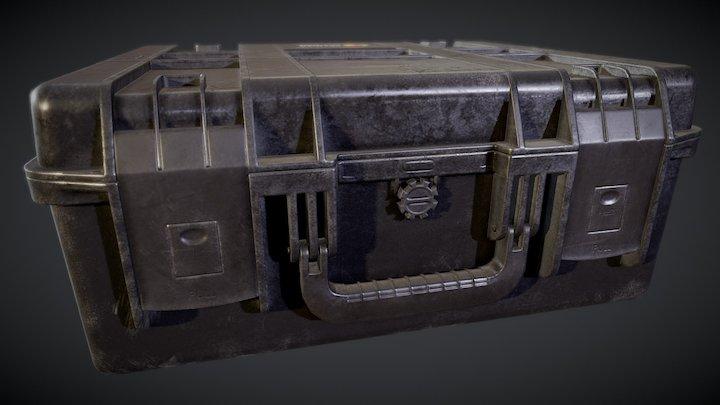 Pelican Storm Case 3D Model