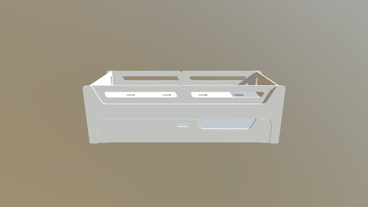 BICAMA ANIS TAMANHO 78X188 3D Model
