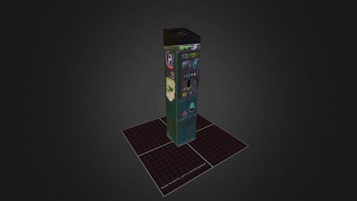 Parking Meter 3D Model