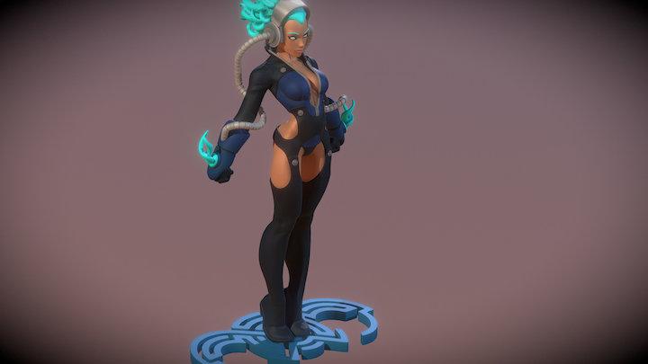 Serina 3D Model