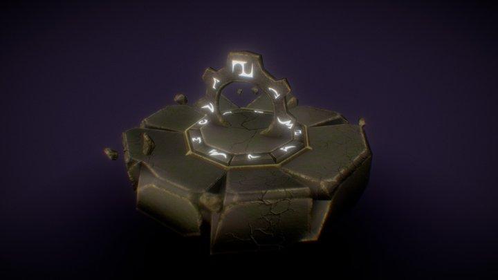Floating Portal 3D Model