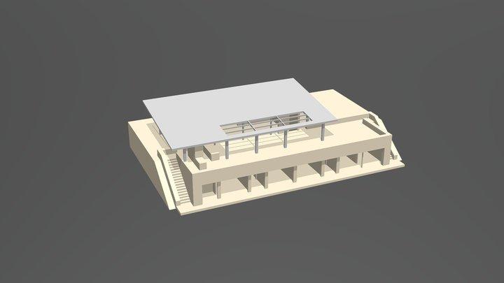 CF Estudio Cubierta / versión 3 3D Model