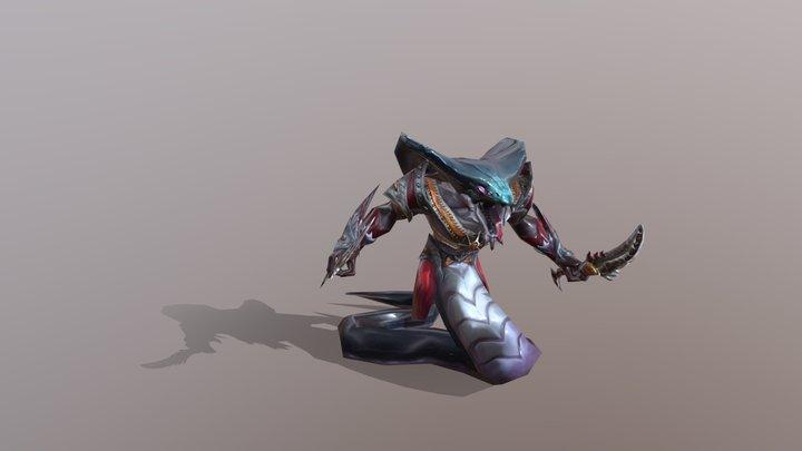 Cobra Boss Monster 3D Model