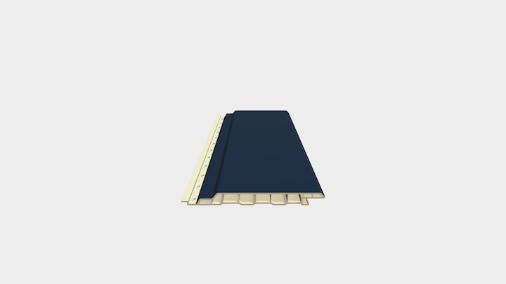 Fortalit Staalblauw 3D Model