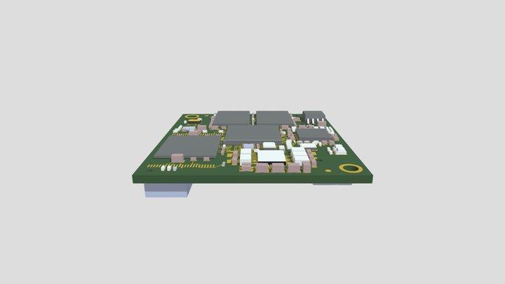 phyCORE-STM32MP15x (PCM-068) 3D Model