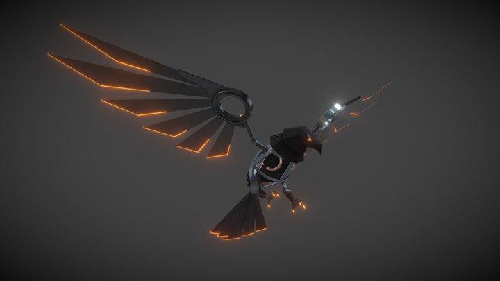Mechanical Eagle 3D Model