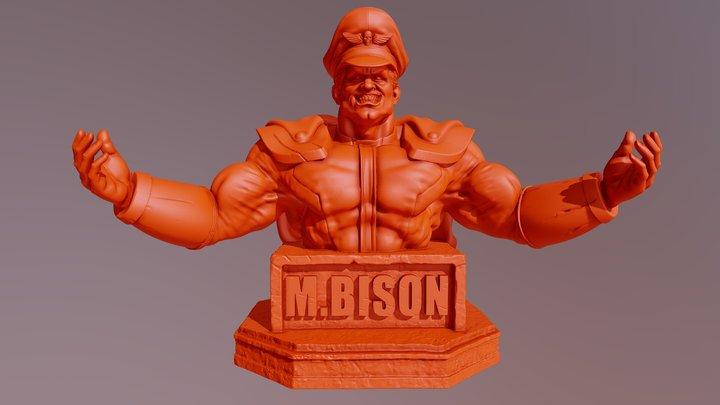 M.Bison 3D Model
