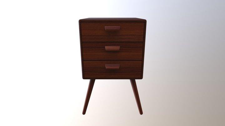 Petite Drawer TS004 3D Model