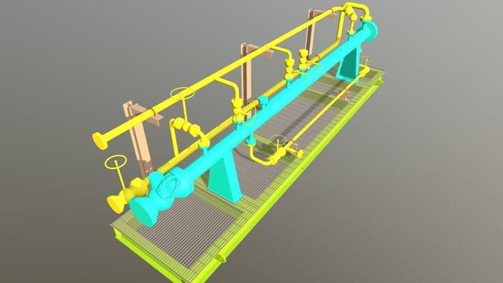 PIG Launcher Receiver 3D Model