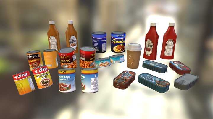 Food Collection Vol. 1 3D Model