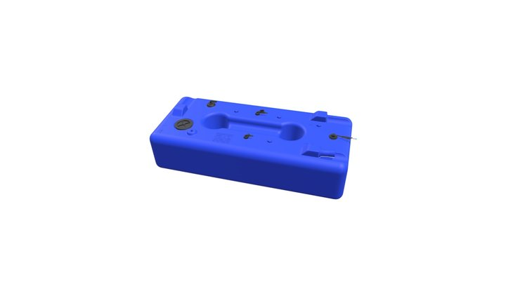 Water tank 285L 3D Model