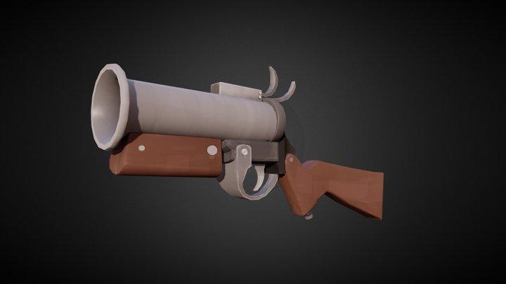 Blunderflare - TF2 Weapon 3D Model