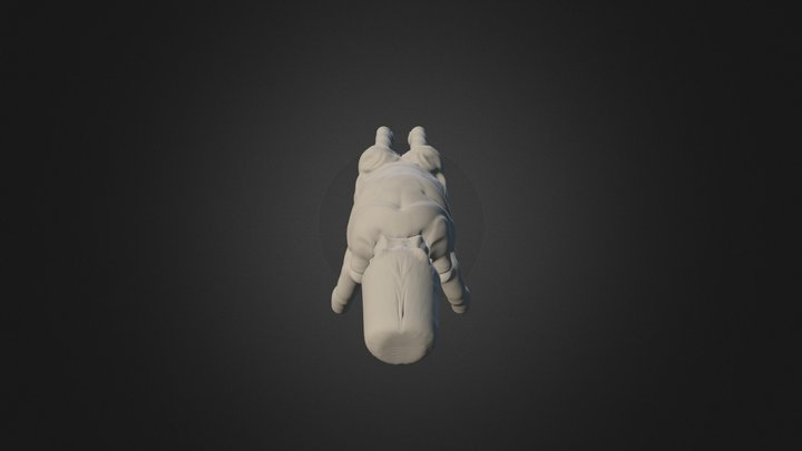 Ned Kelly Australian Bushranger 3D Model