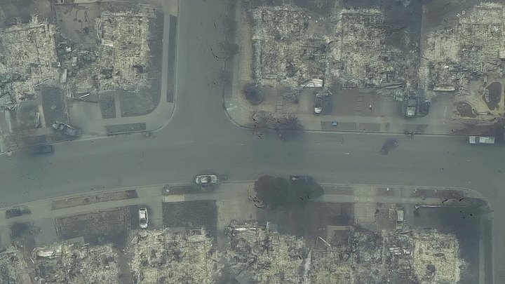 Neighborhood in ashes - 11102017 (c) 3D Model