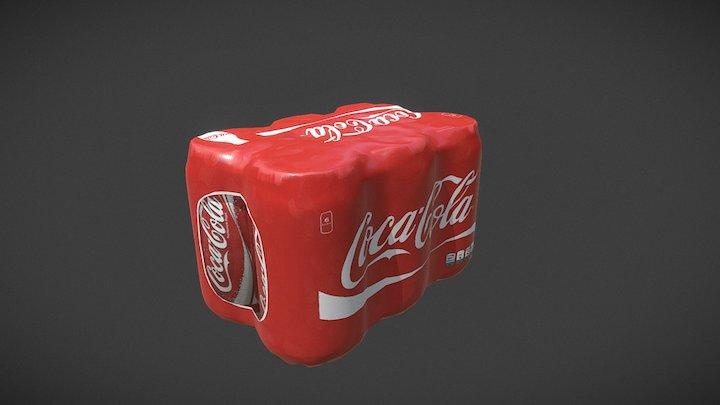 Coca Cola - Six Pack 3D Model