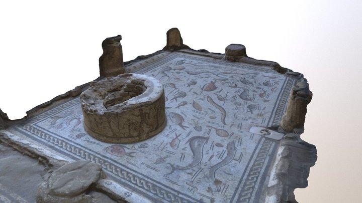 Mosaico TERRAMAR o DE LOS DELFINES 3D Model