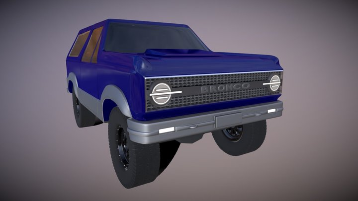 Ford Bronco 6G Concept [WIP] 3D Model