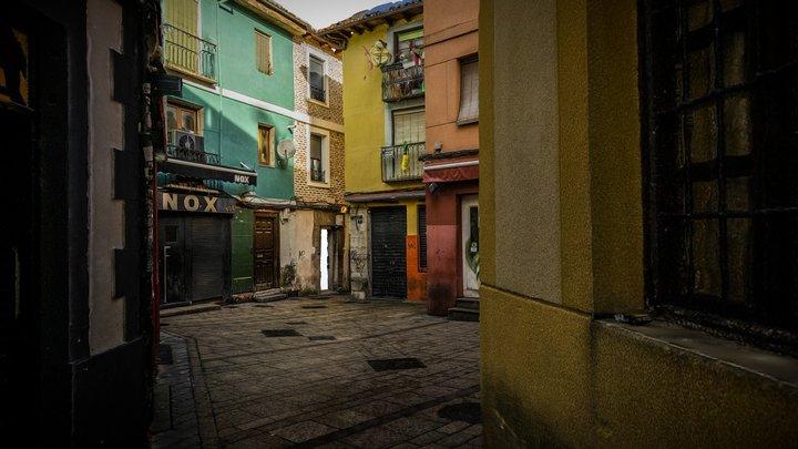 Calle del Barrio Húmedo de León (photogrammetry) 3D Model
