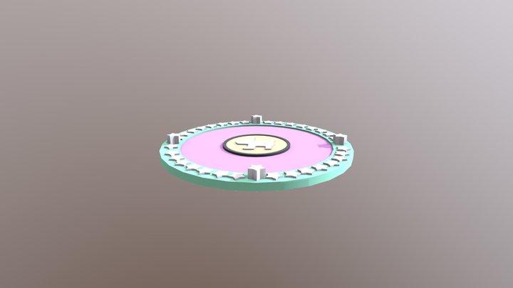 nana pet_card 3D Model