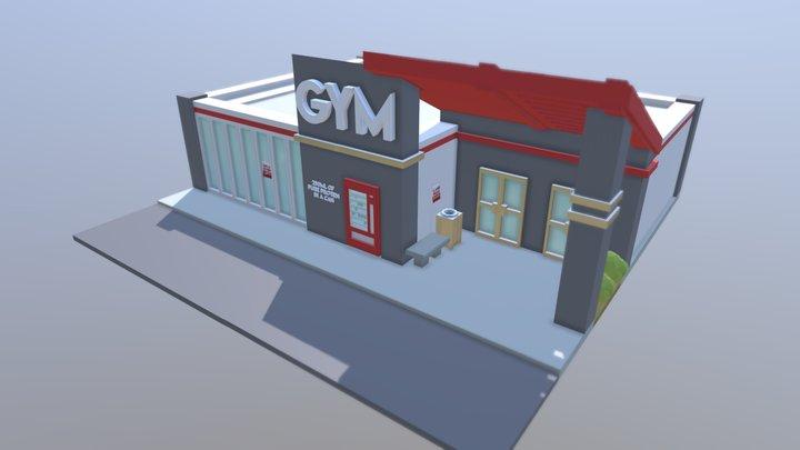 Public Gym 3D Model