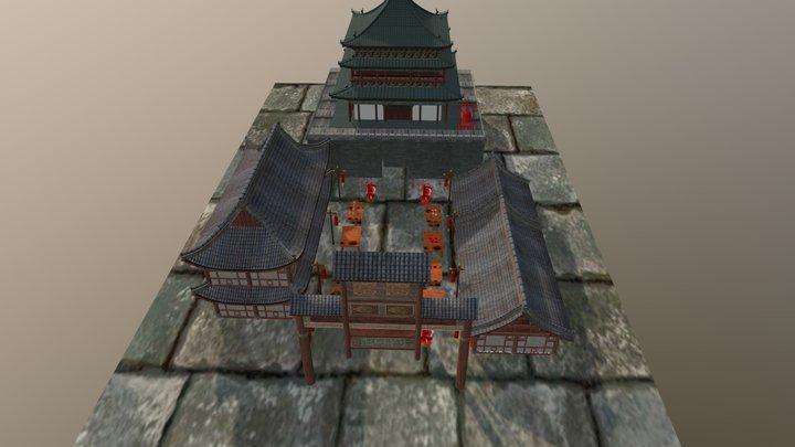 ChineseRoom 3D Model