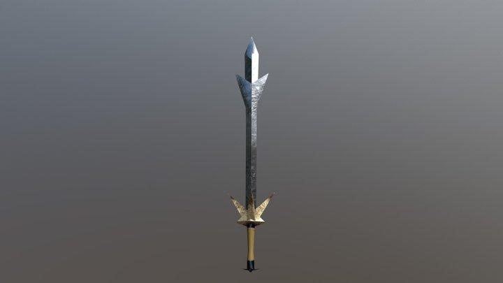 AAA Swords Pack - Persuader 3D Model