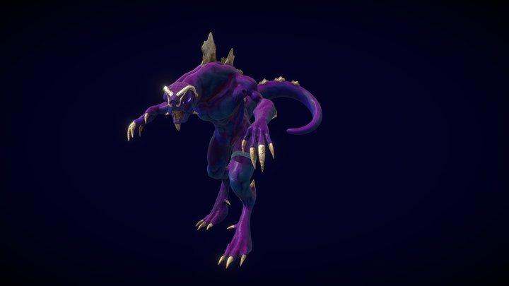 Kaiju : Snaky Samy 3D Model