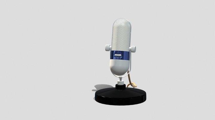 Microfon 3D Model