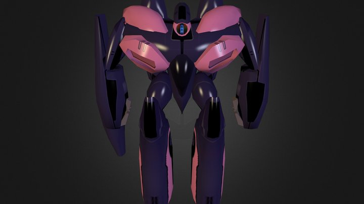Royal Invid Commander (Sera) 3D Model