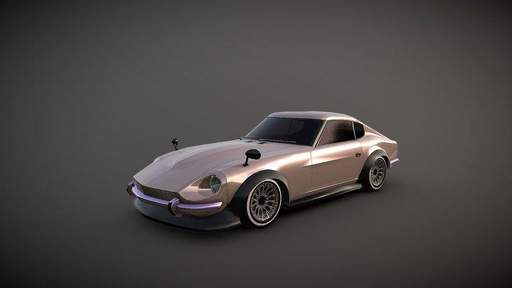 Datsun 240Z 3D Model