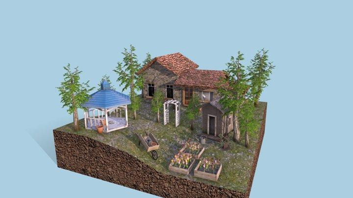 diorama Gwynne Aloy 3D Model