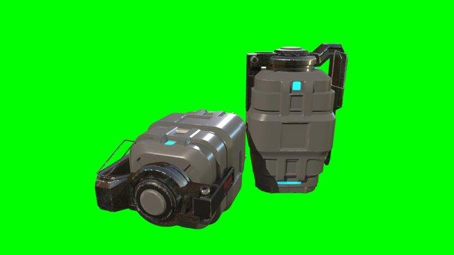 Pulse Grenade Crit 2 3D Model