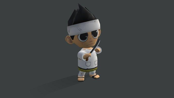 Putra - Attack 1.0 3D Model