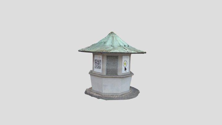 Kiosk Kantplatz 3D Model