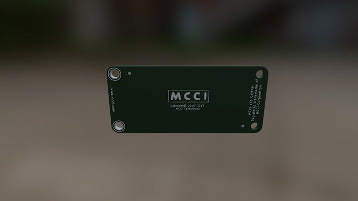 Catena-4450 Bottom Board 3D Model