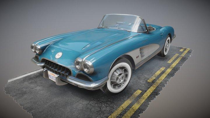 Corvette 1960 3D Model