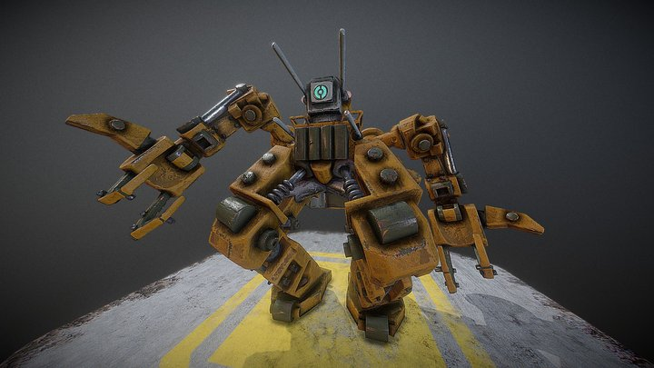 Claud MK2  - VR Sculpt - Rapid Prototype 3D Model
