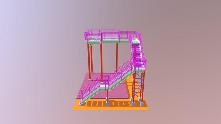 ESTAÇÃO DE TRATAMENTO DE ESGOTO 6ton. 3D Model