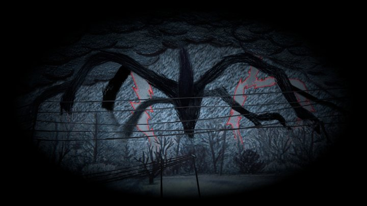 Shadow Beast -Stranger Things- 3D Model