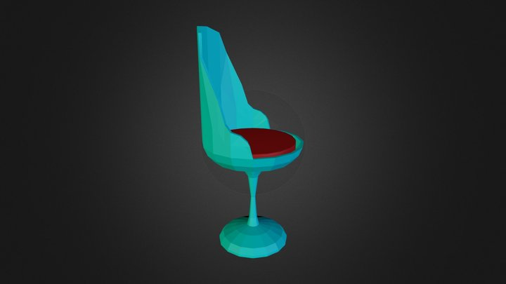 Seat Solid Base Smoothed 3D Model