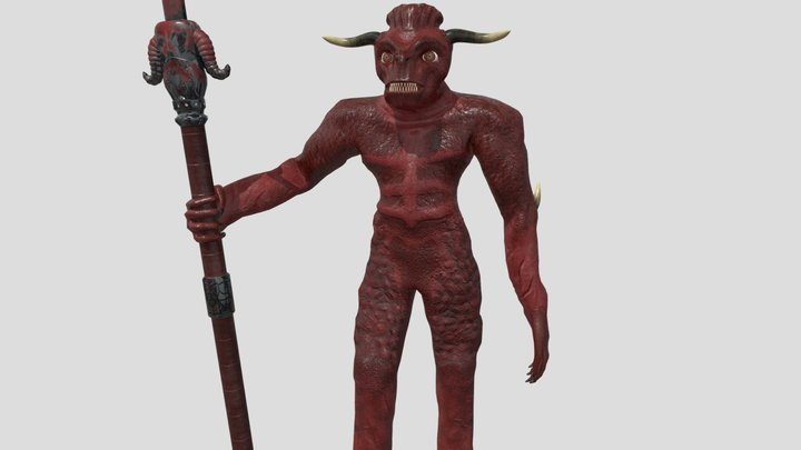 Demon Of Apocalypse 3D Model