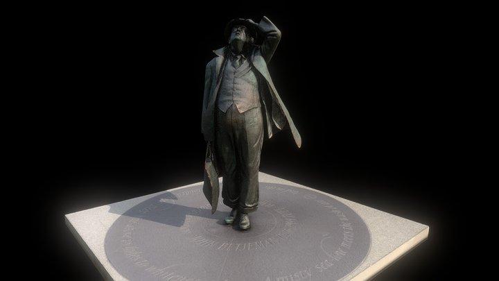 Sir John Betjeman 3D Model