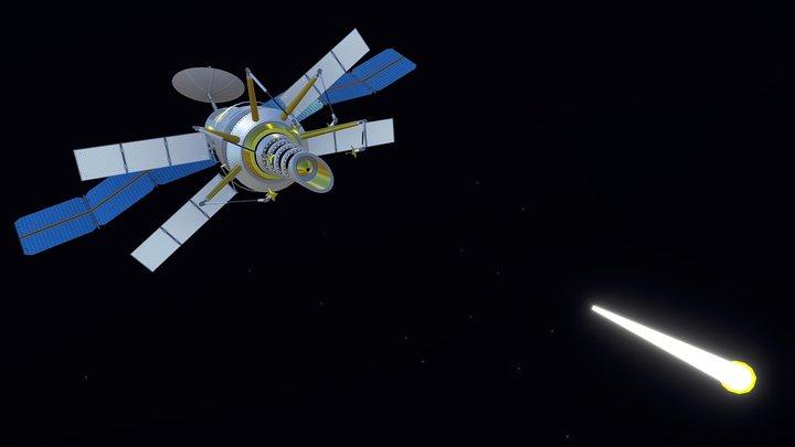 Shooting Stars Cannon / Cañón Estrellas Fugaces 3D Model