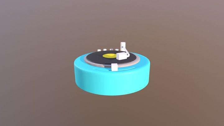 Gramafone 3D Model
