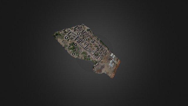 3D Model of Refugee Camp 3D Model