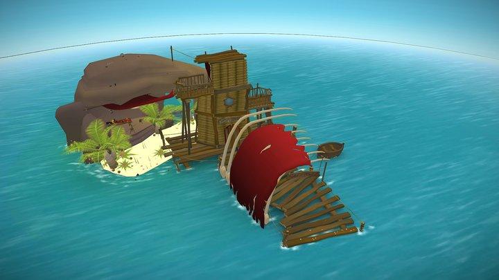 Exile Isle 3D Model