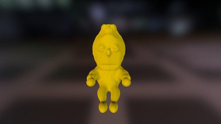 Bert from Sasame street stl 3D Model