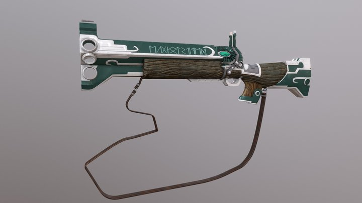 Cerberus Rifle 3D Model